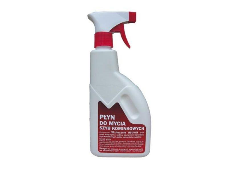 Solutie profesionala de curatat sticla la semineu si sobe PLYN